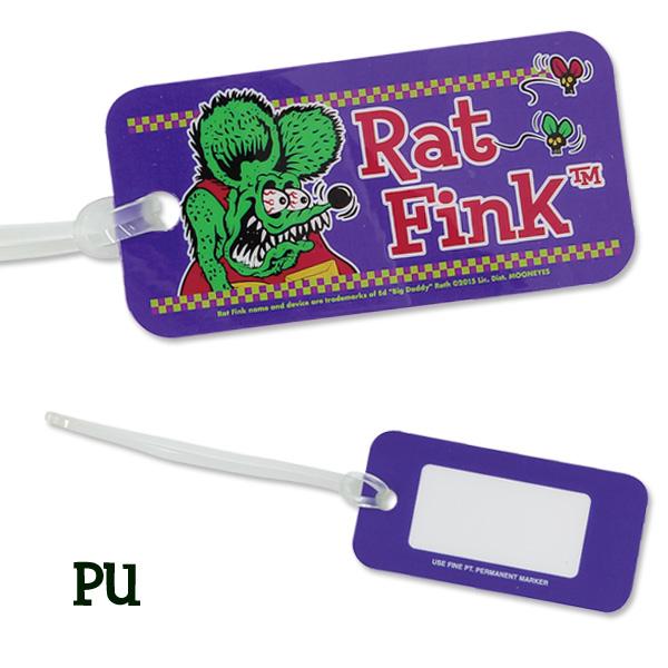 Rat Fink ラゲッジ タグ フェイス