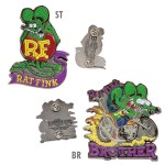 Rat Fink Pins