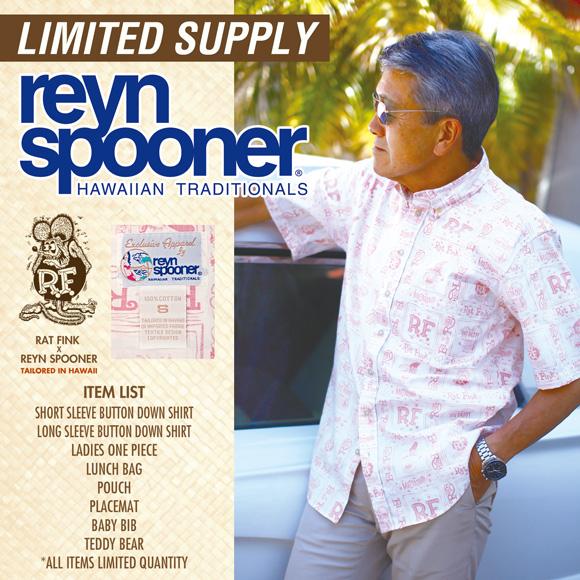Rat Fink x Reyn Spooner