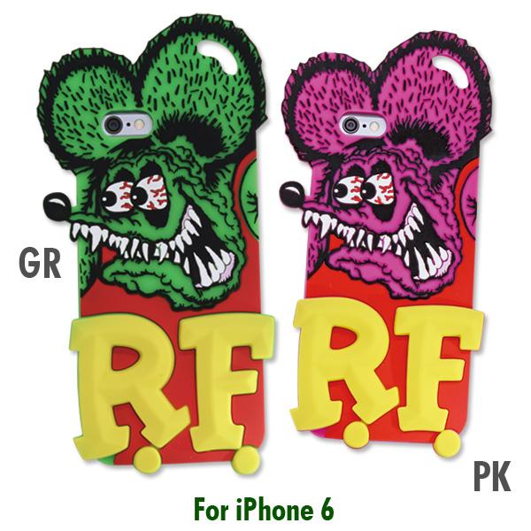 Rat Fink(ラットフィンク) ダイ カット シリコン ジャケット for iPhone6Rat Fink(ラットフィンク) ダイ カット シリコン ジャケット for iPhone6